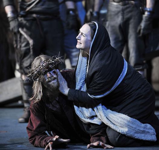 Passionsspiele Oberammergau – Trauer um Jesus Christus