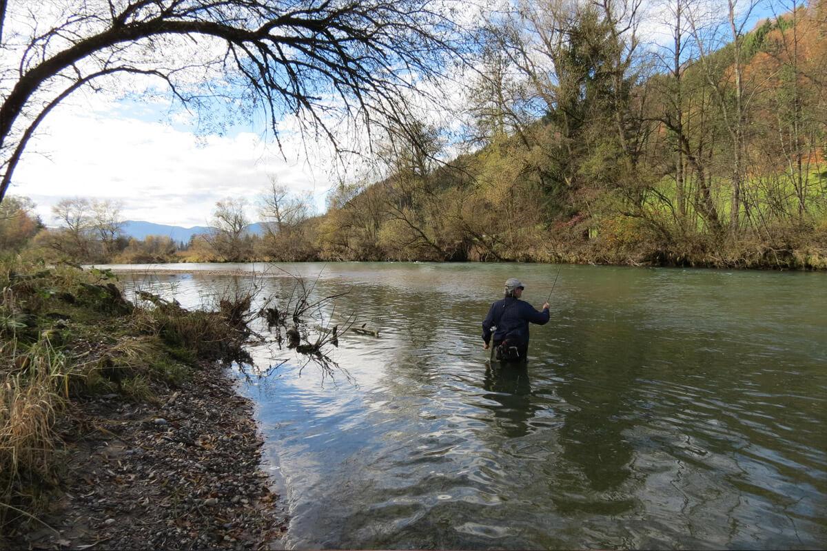 Biohotel Bavaria Fliegenfischen Fluss
