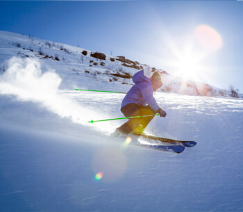 Winterurlaub in Garmisch-Partenkirchen – Skifahrer