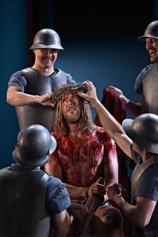 Passionsspiele Oberammergau – Jesus mit Dornenkrone